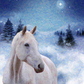 Kenny Francis - Horse in Winter