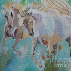 Horses from Camargue 2 by Vicky Tarcau