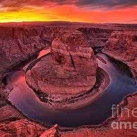 Horseshoe Bend Sunset by Adam Jewell