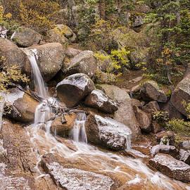 Horsethief Falls - Cripple Creek Colorado by Brian Harig