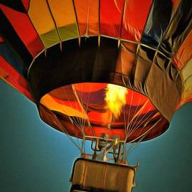 Hot Air Balloon  by L Wright