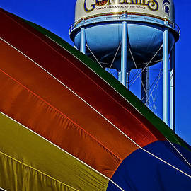 Hot Air In Gonzales by Andy Crawford