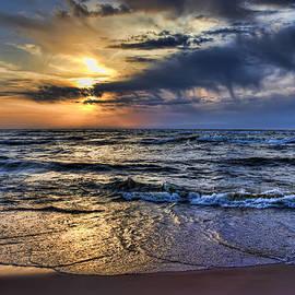 Evie Carrier - Hot April Sunset Saugatuck Michigan