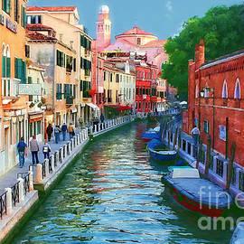 Hotel Gardena Venice Italy by Timothy Hacker