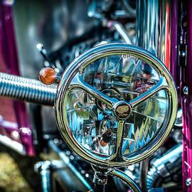 Hotrod Headlight by David Morefield