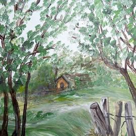 Eloise Schneider - House Just Beyond the Ridge