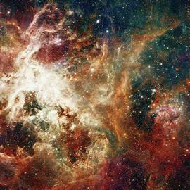 Paulette B Wright - Hubble - Turbulent Star-Making Region