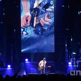 Hunter Hayes Stage - 8657 by Gary Gingrich Galleries