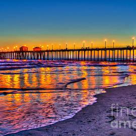 Jim Carrell - Huntington Beach Pier Sundown