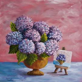 Hydrangeas From My Garden by Darice Machel McGuire