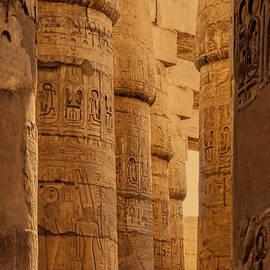 Hypostyle Karnak by Nigel Fletcher-Jones