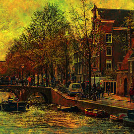Jenny Rainbow - I AMsterdam. Vintage Amsterdam in Golden Light