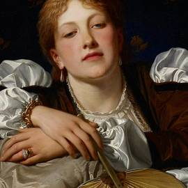Charles Edward Perugini - I know a maiden fair to see