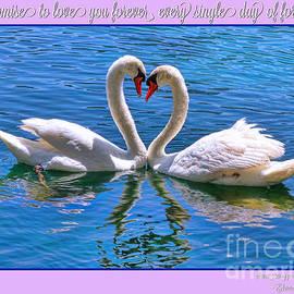 Diana Sainz - I Promise to Love You Poster by Diana Sainz