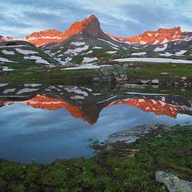 Aaron Spong - Ice Lakes Alpenglow