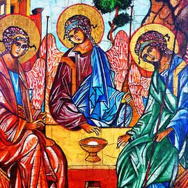Ryszard Sleczka - Icon of the Holy Trinity