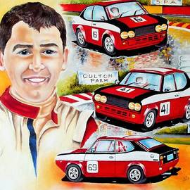 Iconic Man Iconic Car by Anne Dalton
