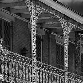 Christine Till - Iconic New Orleans wrought iron balcony