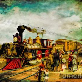 Lianne Schneider - Illinois Central Railroad 1882