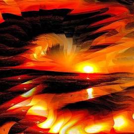 Romuald  Henry Wasielewski - Illusional Sunset