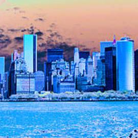 Impression Of New York Harbor by Theodore Jones