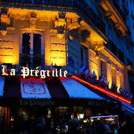 Impressions of Paris - Latin Quarter Night Life by Georgia Mizuleva