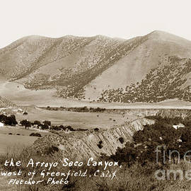In the Arroyo Seco Canyon West of Greenfield Calif circa 1930 by California Views Archives Mr Pat Hathaway Archives