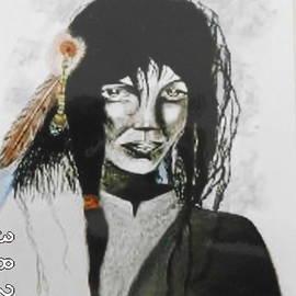 Theo Geerdens - Indian woman