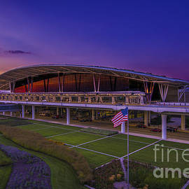 Indianapolis International Airport Sunset Alpha by David Haskett II