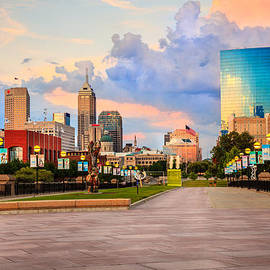 Indianapolis skyline by Alexey Stiop