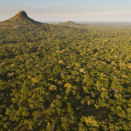 Inselbergs Rising Above Gorongosa by Piotr Naskrecki