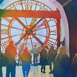 Inside Paris Time by Jenny Armitage