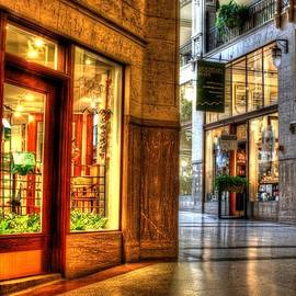 Inside the Grove Arcade by Carol Montoya