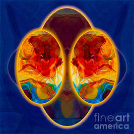 Insights And Awareness Abstract Healing Art by Omaste Witkowski