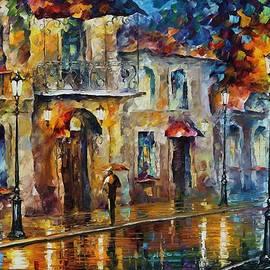 Leonid Afremov - Inspiration of Beauty - Palette Knife Oil Painting On Canvas By Leonid Afremov