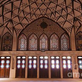 Robert Preston - Interior at the Tabatabiyeh traditional merchants residence at Kashan in Iran