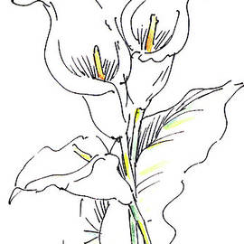 iPhone-Case-Lily-Painting2 by Gordon Punt