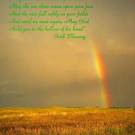 Joyce Dickens - Irish Blessing Rain On The Prairie