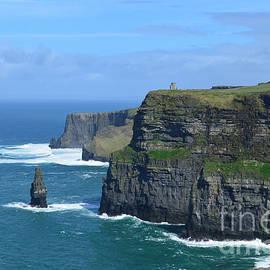 Irish Cliffs of Moher by DejaVu Designs