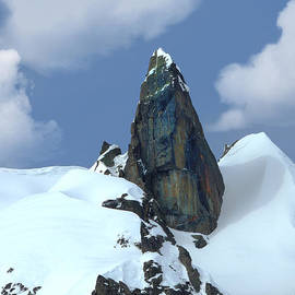 Italian Alps Pinnacle by Frank Wilson