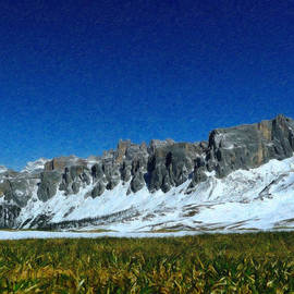 Italian Dolomites Itl6638 by Dean Wittle