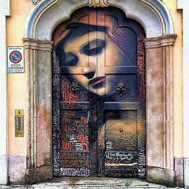 Italian Mary Door by Nicholas Romano