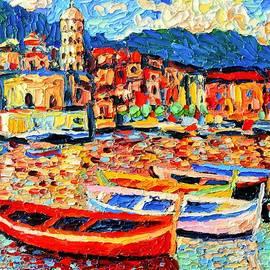 Ana Maria Edulescu - Italy - Cinque Terre - Colorful Boats In Vernazza 3