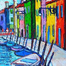 Ana Maria Edulescu - Italy - Venice - Colorful Burano - The Right Side