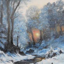 It's Winter by Sorin Apostolescu