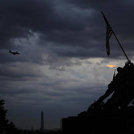 David Lunde - Iwo Jima Memorial at Dusk