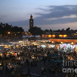 J ma Fna Place Marrakesh by Sophie Vigneault