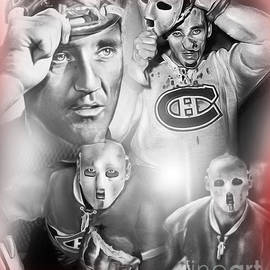 Jacques Plante by Mike Oulton