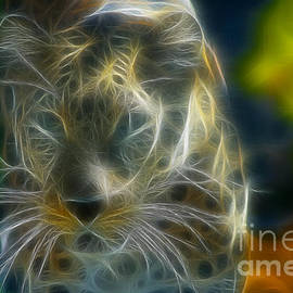 Azur Leopard208-Fractal by Gary Gingrich Galleries