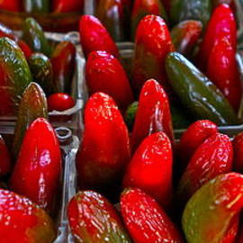 Jalapeno Peppers by John Babis